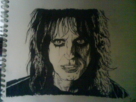 Alice Cooper by s-tyler